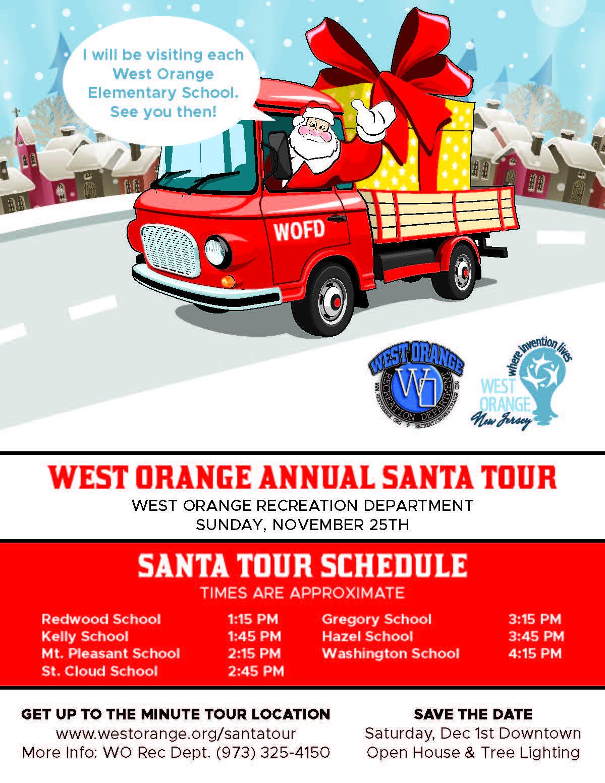 Santa Tour 2018