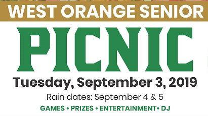 Senior Picnic flyer- banner