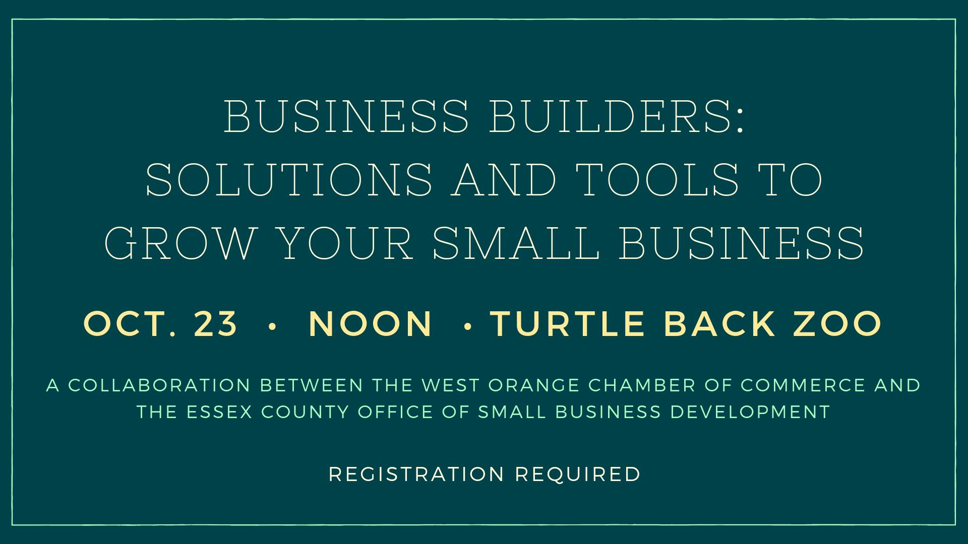 WOCC Business Builders Oct 2019