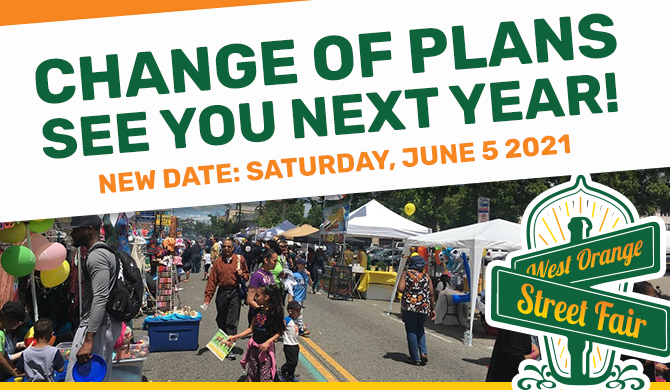 StreetFair2020 Change of Plans to 2021