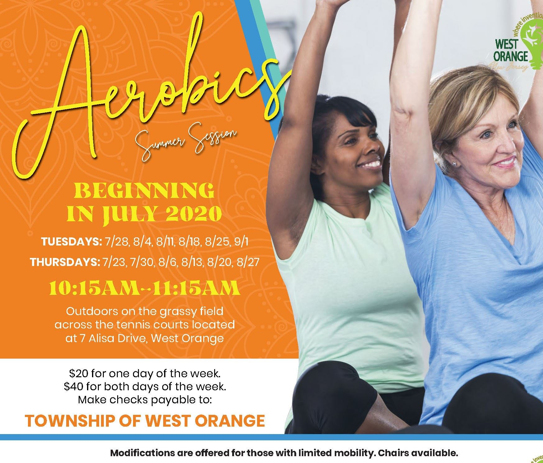 Aerobics Summer 2020 Cropped