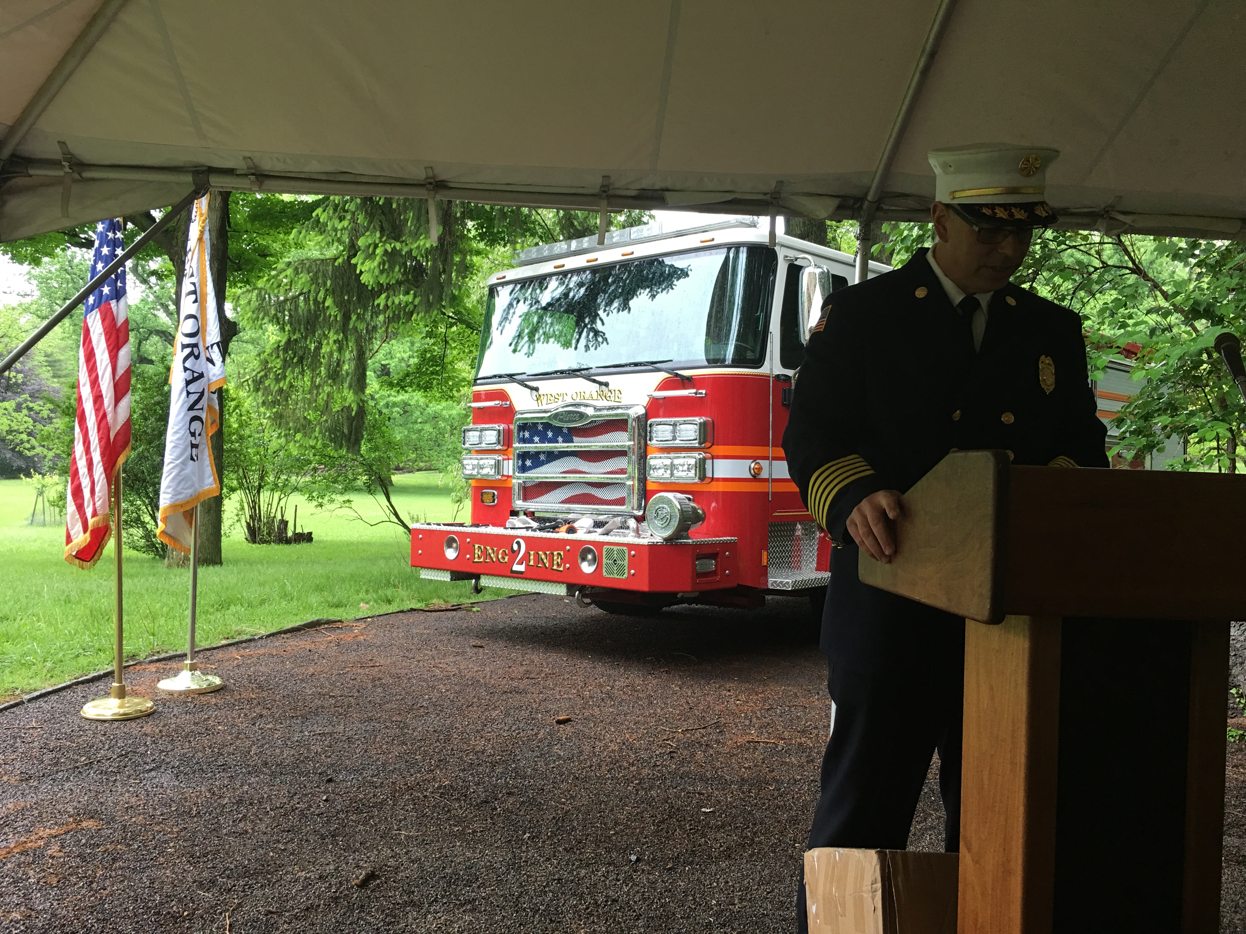 WOFD Dedication of Engine 2 on 5/22