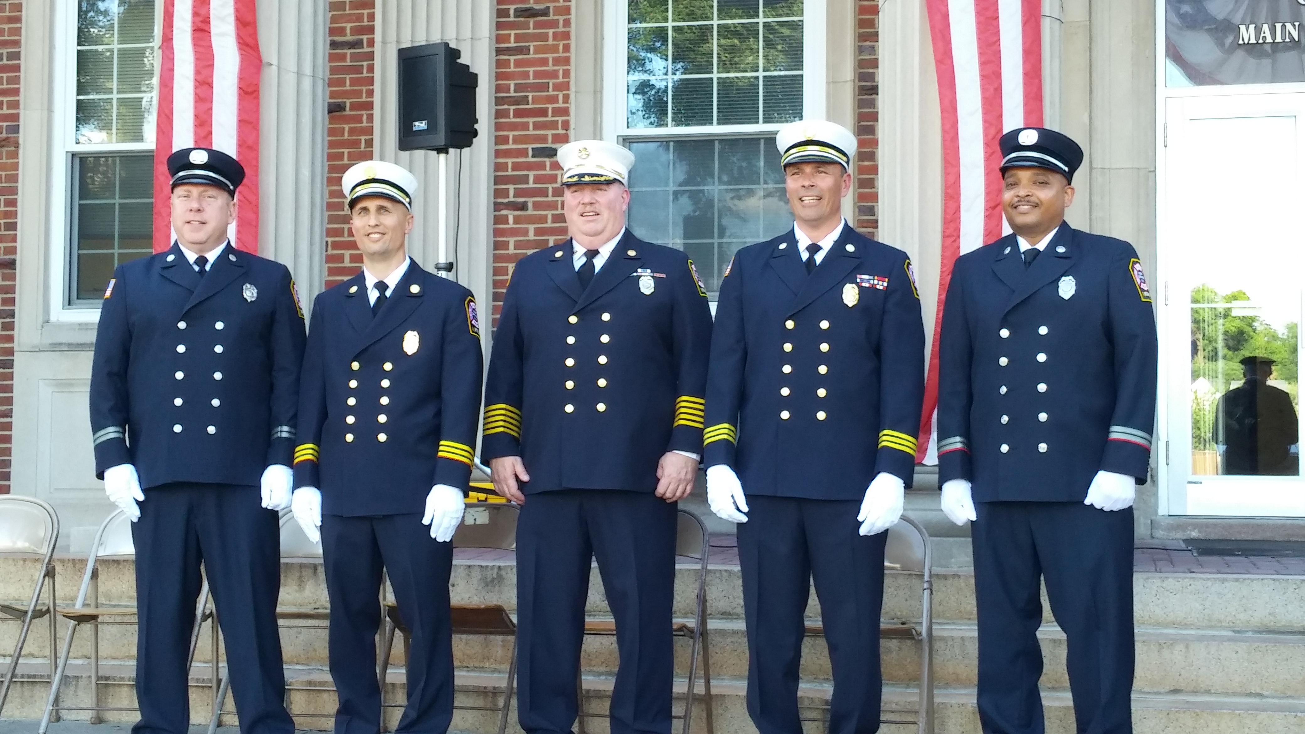 Joint Police & Fire Promotion Ceremony 6/20/17