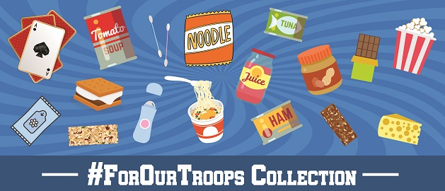 For our troops