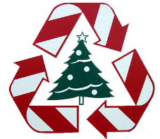 Recycle Xmas Tree