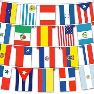 hispanic flags