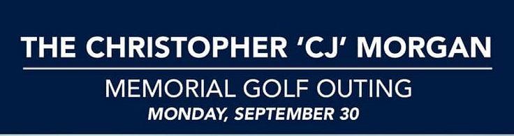 CJ Morgan Memorial Golf Outing Banner