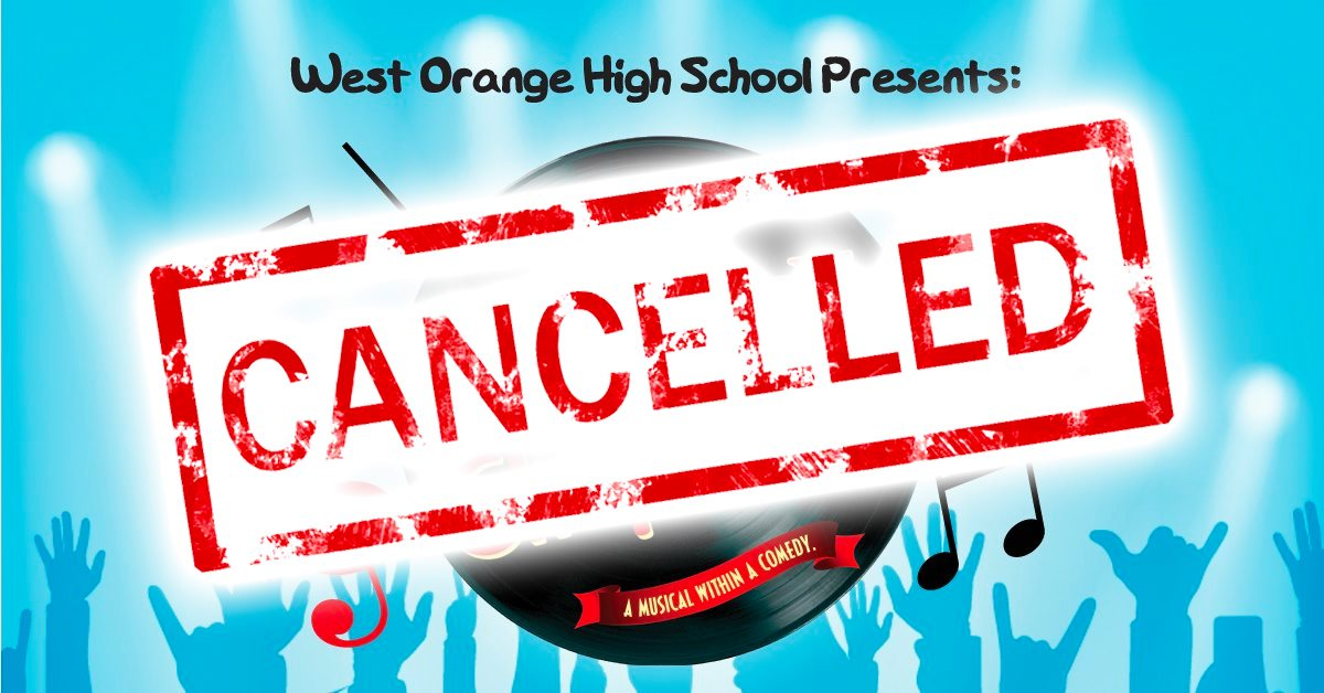 Drowsy Chaperone Cancelled