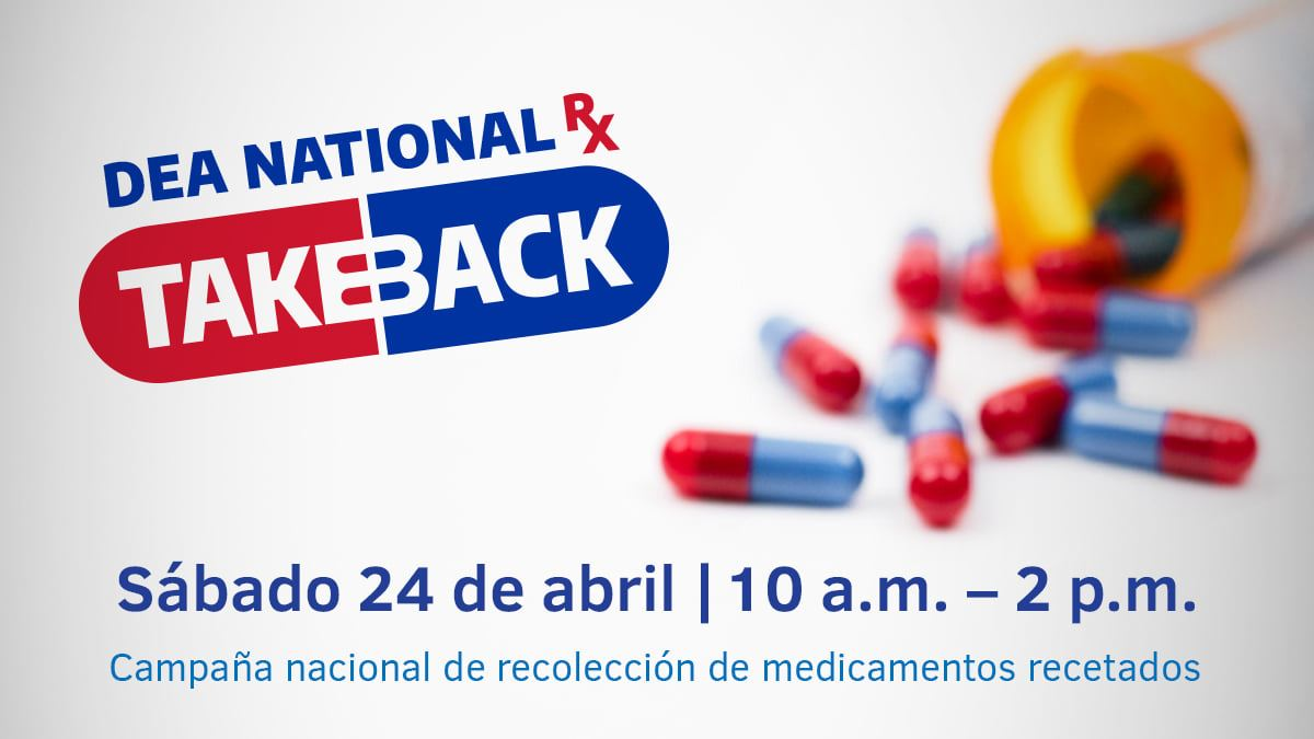 Drug Take Back Day 2021 spanish