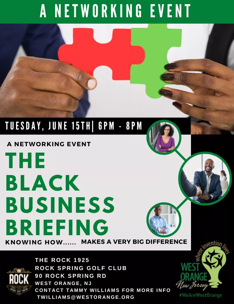 Black Business Briefing Event
