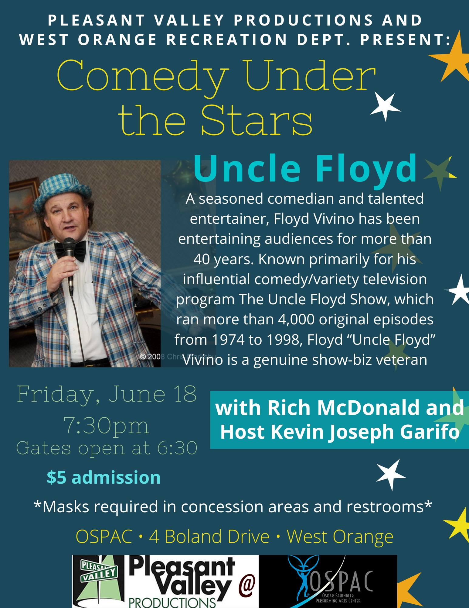 Comedy Under the Stars- OSPAC