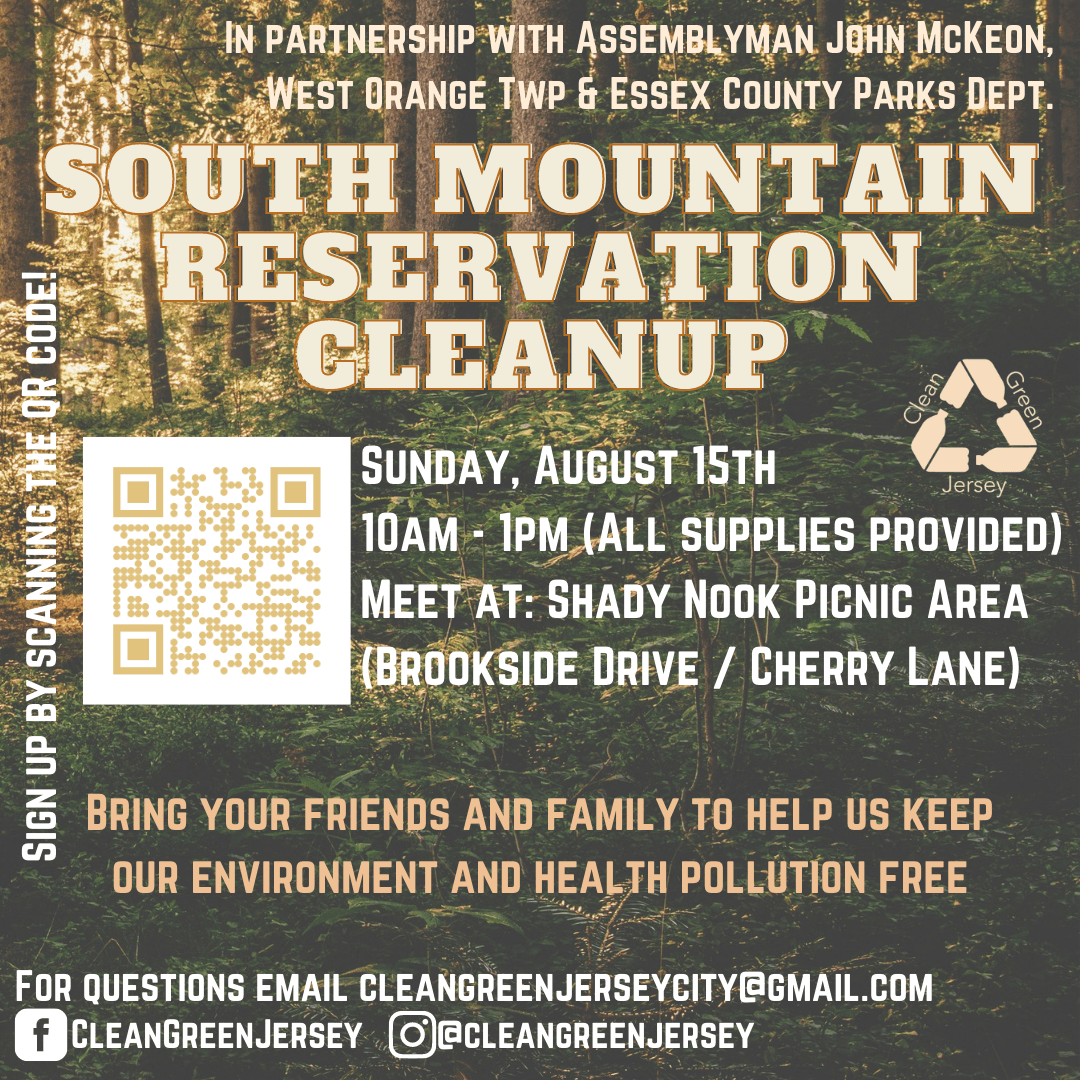 south mountain reservation cleanup