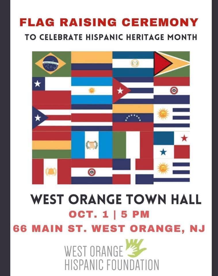 Hispanic Flag Raising 2021